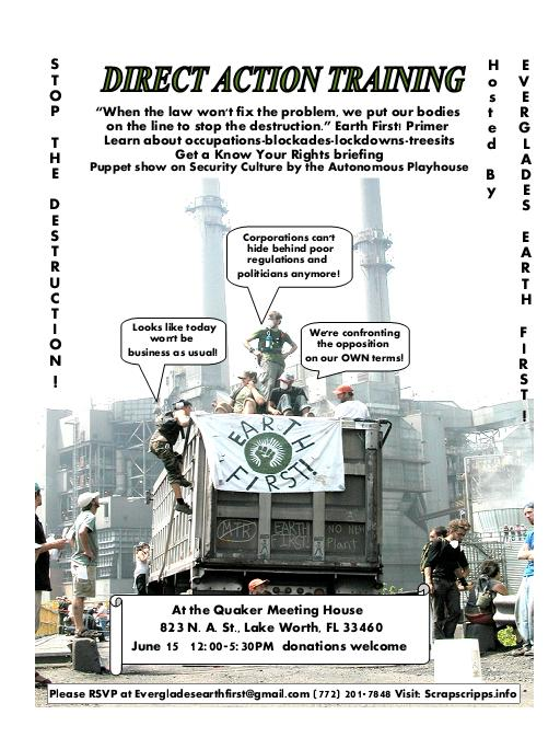Direct Action Training Flyer 2013 EEF!